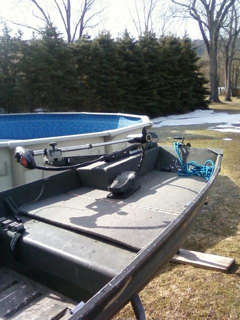 Bow Mount Trolling motors on Jon Boats